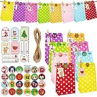 ギフトバッグ セット ラッピング袋 プレゼントケース クリスマスグッズ キャンデー袋 かわいい お菓子 小物入れ DIYペーパーボックス再利用可能 贈り物 家装飾 飾り (color-3)