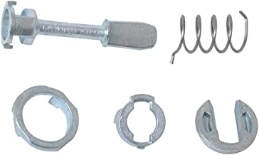 Flameer Zinc Alloy Auto Car Door Lock Cylinder Repair Kit Suitable for VW Passat 3B0837167/168
