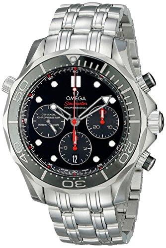 Omega Seamaster Co-Axial Diver Uomo Cronografo Automatico 44mm Orologio 21230445001001 212.30.44.50.01.001