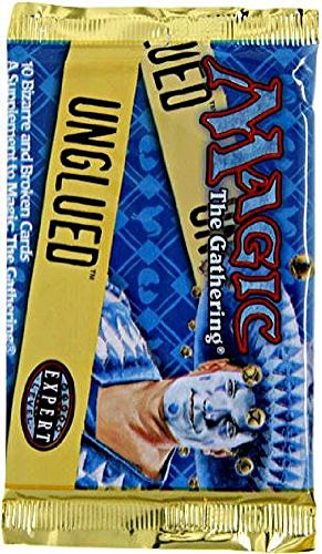 Magic the Gathering Unglued Booster Pack 10 cards