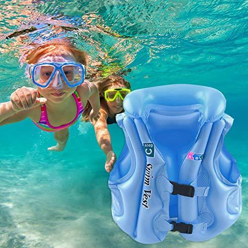 WANGQI Baby Float Schwimmweste Rettungswesten Für Kinder Aufblasbare Beach Float Aid Schwimmende Schwimmweste Sicherheit Schwimmhilfe Auftriebsweste(s)