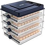FHISD 112 Uova Incubatrici per Uova, incubatrice Automatica per Uova con Display Digitale a LED Controllo della Temperatura Macchina da incubazione per polli Anatre Oca UC