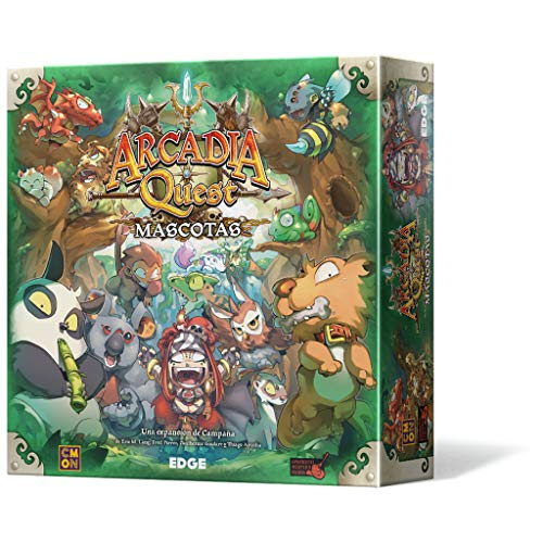 Edge Entertainment-Arcadia Quest Mascotas-Español, Color (Edge Entertaiment...