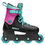 Impala Lightspeed Inline Skate (US 4 / EU 35 / UK 2, Black/Berry)