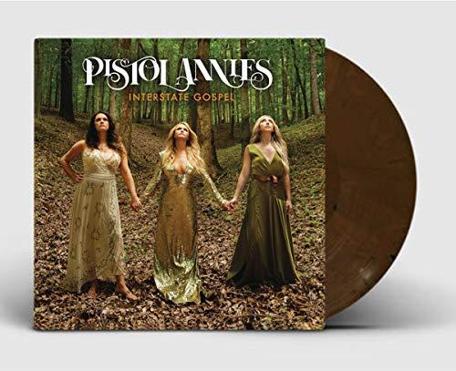 Pistol Annies - Interstate Gospel Exclusive Hardwood Brown Marbled LP Vinyl