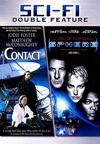 Contact [1997] + Sphere [1998] [2x DVD]