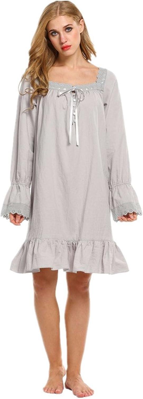 Bobbycool Women's Spring Cotton Pajamas Home Furnishing Sexy Clothes Pajamas