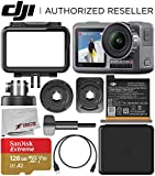 DJI Osmo Action 4K Camera with 128GB Basic Accessory Bundle - Includes:...