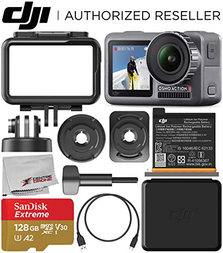 DJI Osmo Action 4K Camera with 128GB Basic...