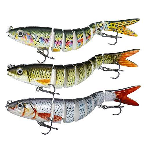 larruping Leurres de pêche, appâts artificiels à...