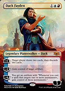 Magic: The Gathering - Dack Fayden - Ravnica Allegiance - Mythic Edition