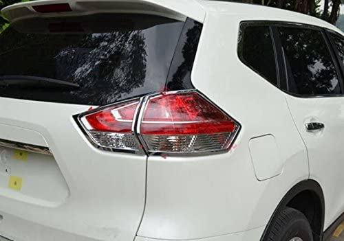 YUZHONGTIAN Rear Tail Light Lamp Cover Shipping 2021 new included 4pcs Trim Chrome for Niss