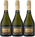 Marqués de la Concordia Reserva De La Familia Brut Millesima Cava - 3 botellas x 750 ml - Total:...