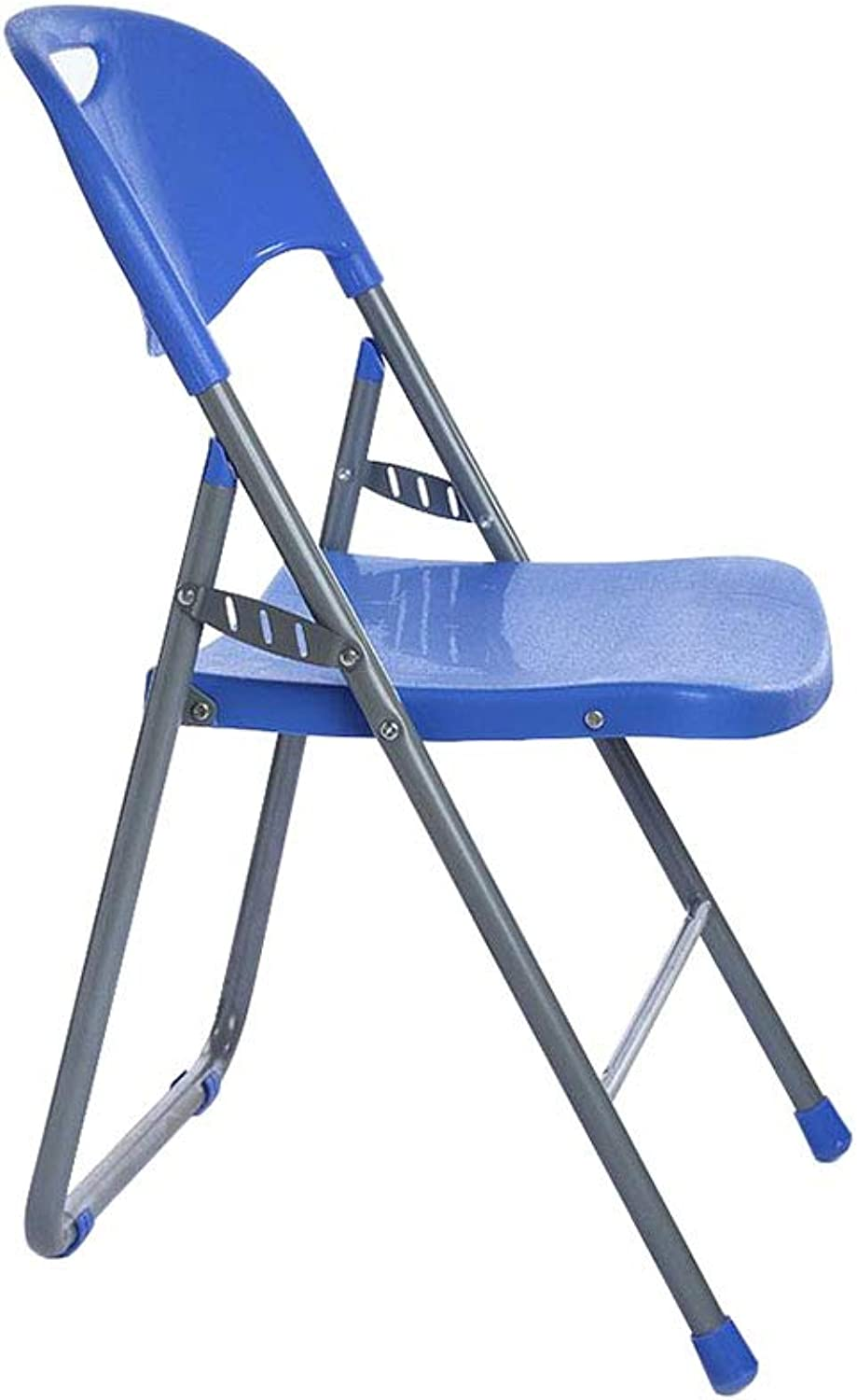 Folding Chair Staff Student Training Office Meeting Desk Chair bluee Padded
