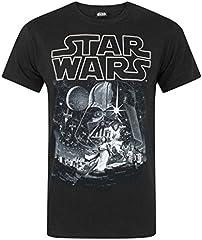 Star Wars Camiseta Nueva Esperanza Cartel Oficial de los Hombres
