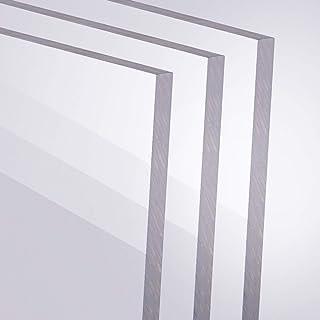 Acrylglas 5mm GS PMMA transparant glashelder gesneden grootte naar keuze 400 x 400 mm