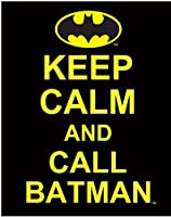 C&D Visionary DC Comics Batman Keep Calm And Call Batman Sticker [並行輸入品]
