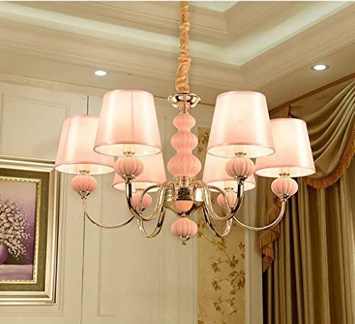 Europees-stijl woonkamer kroonluchter moderne eenvoudige roze prinses kamer kinderkamer kroonluchter