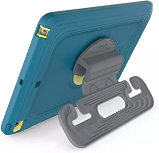 OtterBox Apple iPad (8th gen) and iPad (7th gen) Kids Antimicrobial EasyGrab Tablet Case - Galaxy Runner Blue