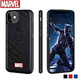 Marvel Avengers Cell Phone Case Protective for iPhone 11, Cotton Plush Case for Marvel Avengers Comic Super Hero Inspired Series 3D Premium Scratch-Resistant (Black Panthers, iPhone11)