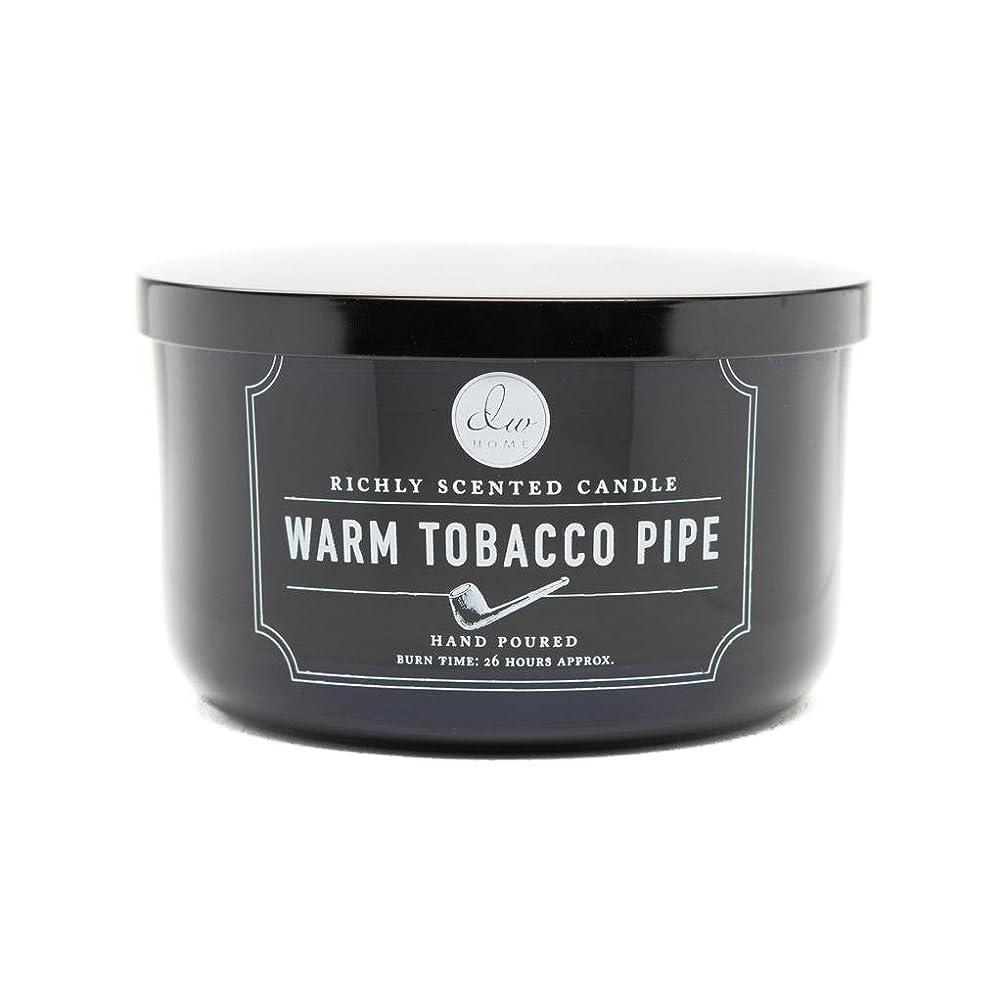 代替ご注意横向きDecoware Richly Scented Warm Tobacco Pipe 3-Wick Candle 13.8 Oz. In Glass by Decoware