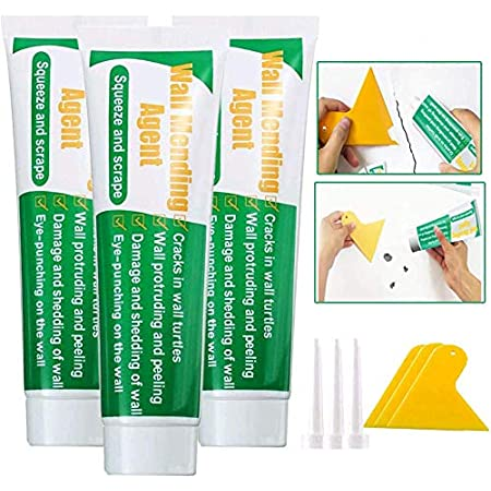 TADAMI Wall Surface Repair Products,Wall Repairing Ointment,DIY Wall Repair Cream Remove Wall Graffiti,Wall Surface Repair Cream,Wall Mending Agent,Self-Adhesive Drywall Repair Putty