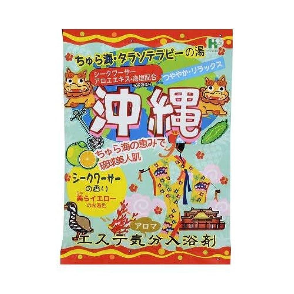 用心する情報マラソンエステ気分アロマ入浴剤 沖縄 40g