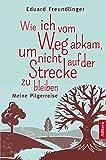 Wie ich vom Weg abkam, um nicht auf der Strecke zu bleiben: Meine Pilgerreise - Eduard Freundlinger