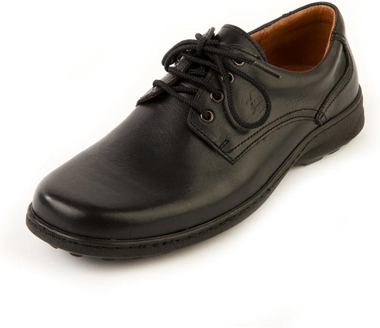 Softwalk Lee Black Comfort, Wide Fit, Casual