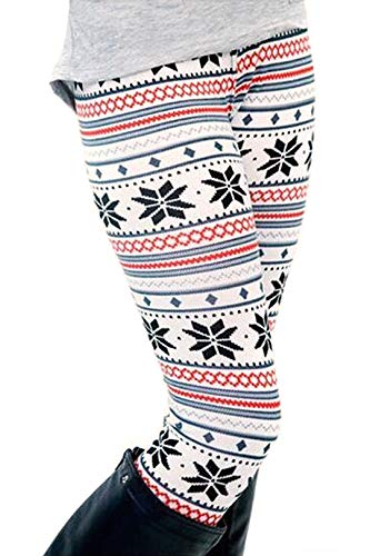 Lanivas Leggings Winterleggings Norweger gefüttert Strumpfhose Thermo Teddy Fleece Verschiedene Muster