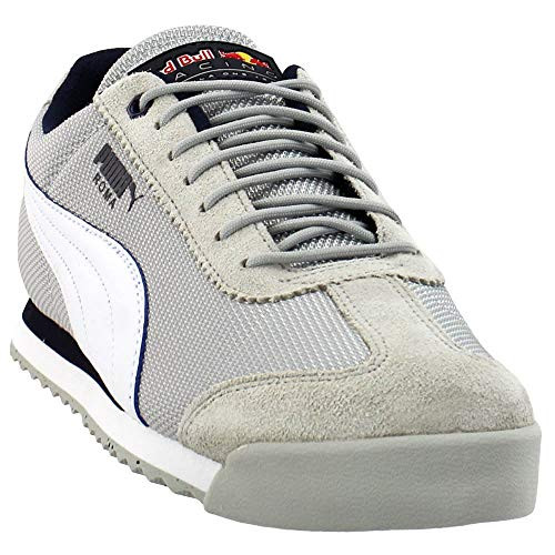 PUMA Mens Red Bull Racing Roma Casual Sneakers, Grey, 14