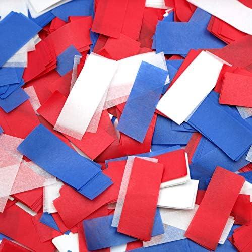 Ultimate Confetti Red White Blue Tissue Confetti Biodegradable product image