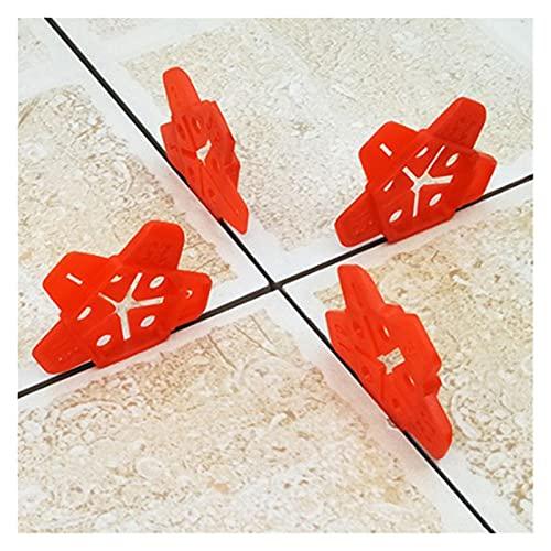 50 unids/set espaciadores de baldosas de cuñas de nivel para suelo, espaciador de baldosas de pared, nivelador de baldosas, localizador, espaciadores de cerámica
