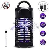 SOLMORE UV Insektenvernichter, Insektenlampe Mückenfalle USB Mückenlampe gegen Mücken, Moskito Killer für 30m² Innen Schlafzimmer