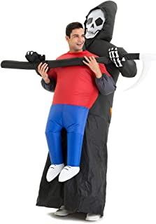 Hsctek Inflatable Carring Me Costume for Adult