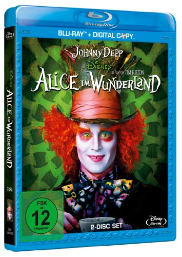 Alice im Wunderland (inkl. Digital Copy) [Blu-ray] - Partnerlink