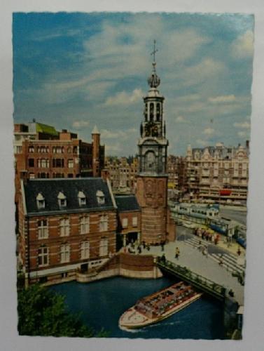 Antigua postal fotográfica. Old photo pst card. AMSTERDAM. Mintsquare.