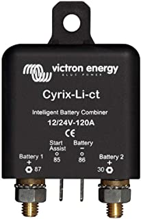 Victron Cyrix-Li - Intelligent Microprocessor Controlled Combiner/Isolators for Lithium Batteries