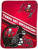 The Northwest Company NFL Tampa Bay Buccaneers Slant Silk Touch Throw Blanket, 60' x 80'