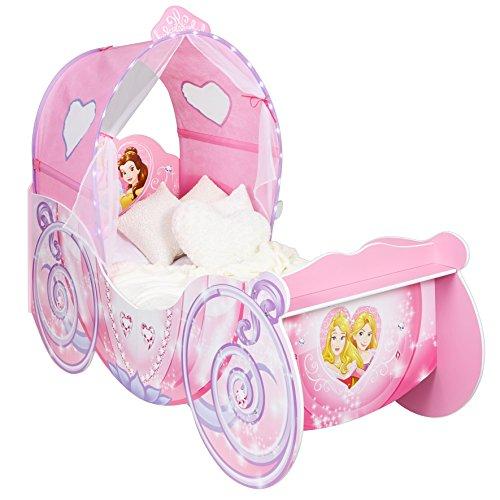 Disney 452DNY Princess Carriage Kids Toddler Bed(HelloHome)