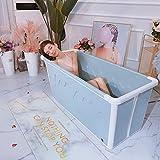 Sdyy Piegato in Gomma Morbida Bagno Barrel, Adulto Bubble Bath Barile, Bath, Isolamento Costante, Nuoto del Bambino, Portable Balneari