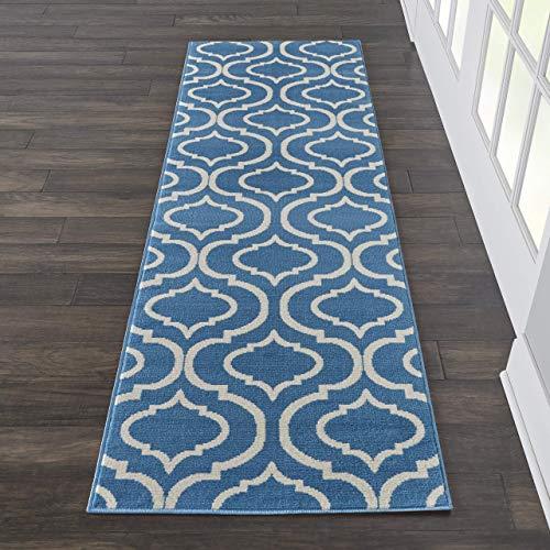 Marca de Amazon - Movian Timok, alfombra rectangular, 221 de largo x 68,6 cm de ancho (diseño geométrico)