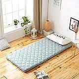 ZXCVBN Colchón Tatami colchón futón Dormitorio Individual Doble Japonesa colchón Almohadilla del Suelo Hogar de Niños Cama revestimientos (Color : B, Size : 150x200 cm)