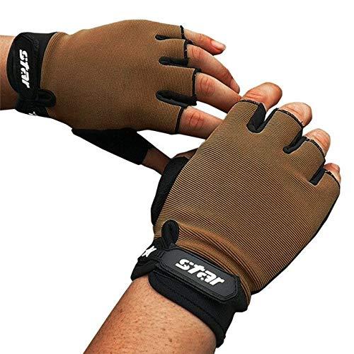 Berrd Men Antiskid Cycling Bike Gym Fitness Sports Half Finger Gloves New Road Bike Gloves Men Women Cycling Gloves Half Finger New - A2 X S