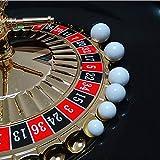 S-TROUBLE 5 Pezzi di Roulette Russa Palla da Roulette del Casinò Palla di Ricambio Palla ...