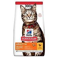 Hills Science Plan Hills Cat Food Adult 1-6 Optimal Care Chicken Dry Mix 300gram
