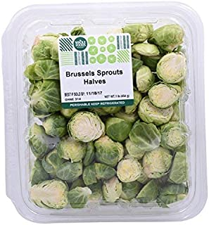 Whole Foods Market, Vegetable Cut Brussels Sprouts Halves Conventional, 16 Ounce