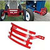 ECOTRIC Heavy Duty Red Bumper W/Trailer Hitch...