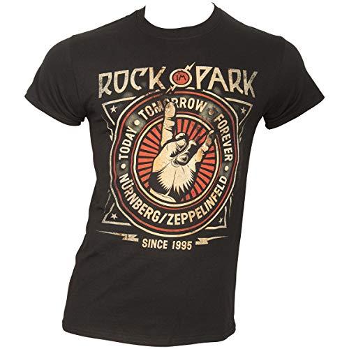 Rock IM Park - Cross Crest - T-Shirt Größe XXL