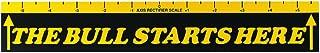 Viper Dart Throw/Toe Line Floor Marker: The Bull Starts Here (Steel/Soft Tip Darts)